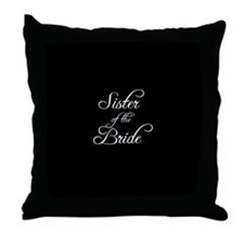 Sister Of Bride - Formal Throw Pillow