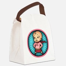 super-bbg-T Canvas Lunch Bag