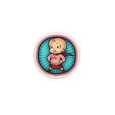 super-bbg-T Mini Button
