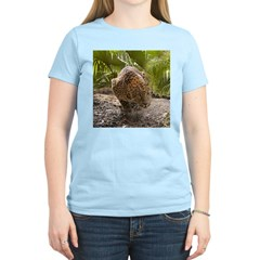 Cheetaro The Leopard Women's Pink T-Shirt