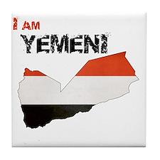 I am Yemeni Tile Coaster