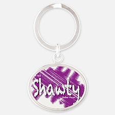 Bieber_Shawty_button Oval Keychain