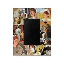 nurse collage poster Picture Frame
