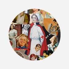 "nurse collage poster 3.5"" Button"