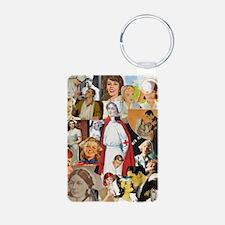 nurse collage poster Keychains