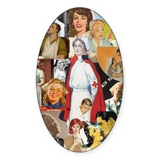 nurse collage poster Decal