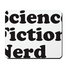 sciencefictionnerdblack Mousepad