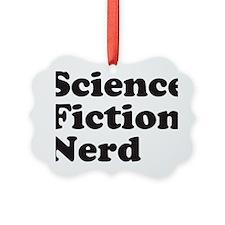 sciencefictionnerdblack Ornament