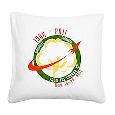 ISDC 2011 Logo Square Canvas Pillow