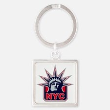 nyc Square Keychain