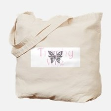 Trophy Wife - Butterfly Tote Bag