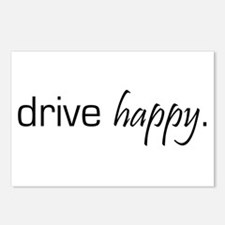 Drive Happy Postcards (Package of 8)