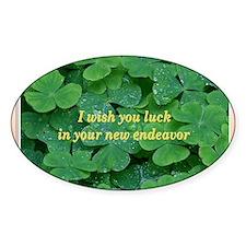 Card April 3 luck endeavor Decal