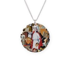 nurse collage mousepad Necklace
