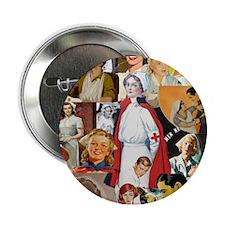 "nurse collage mousepad 2.25"" Button"