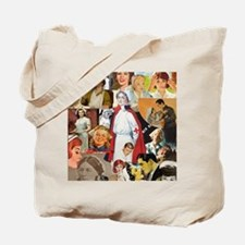 nurse collage mousepad Tote Bag