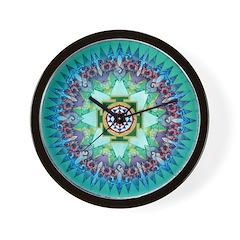 Sri Yantra Mandala Wall Clock