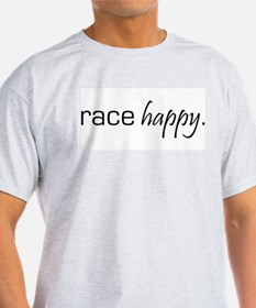 Race Happy Ash Grey T-Shirt