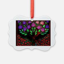 LibrisRootsTreePostcard Ornament