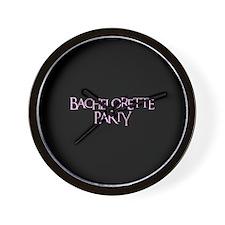 Bachelorette Party - Funky Pi Wall Clock