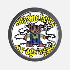 imagine Wall Clock