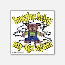 """imagine Square Sticker 3"""" x 3"""""""