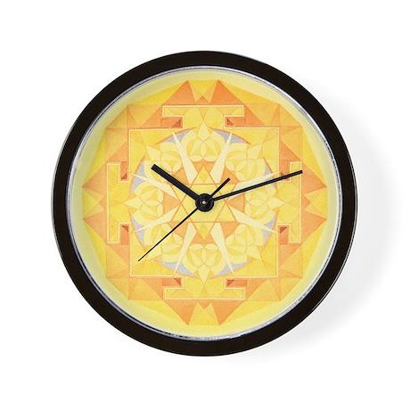 Jupiter Yantra Wall Clock