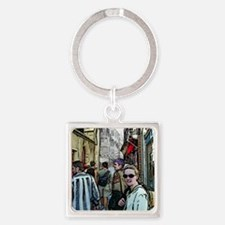 em-in-brittany Square Keychain