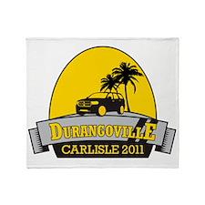 Durangoville Carlisle 11 Front Final Throw Blanket