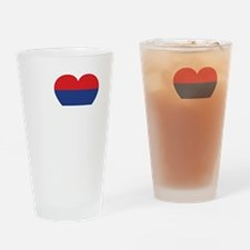 Nole Serbia -dk Drinking Glass