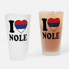 Nole Serbia Drinking Glass