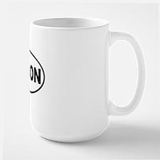 bacon-oval Large Mug