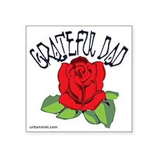 "gratefuldad Square Sticker 3"" x 3"""