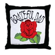 gratefuldad Throw Pillow
