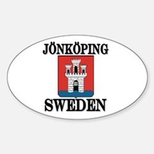 The Jönköping Store Oval Decal