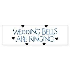 Wedding Bells Are Ringing - F Bumper Bumper Sticker