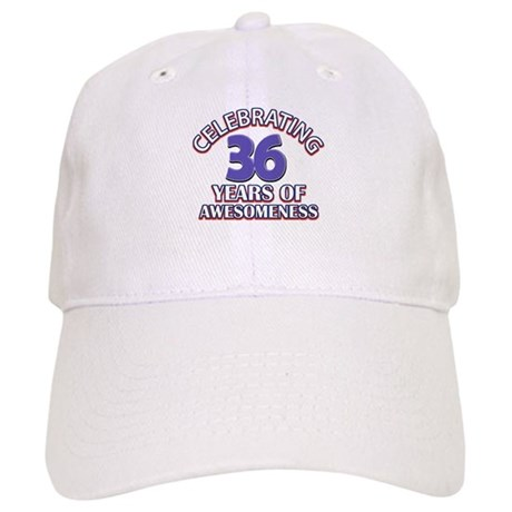 Awesome at 36 birthday designs Cap