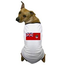 Canada-Red-postWWII Dog T-Shirt