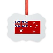 Australia-Red_DARK Ornament