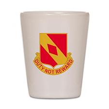 2d Battalion 20th Field Artillery Regim Shot Glass