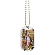 nurse collage journal Dog Tags