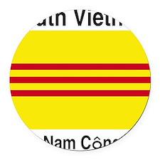 South-Vietnam-Light Round Car Magnet
