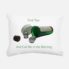 cache take 2 Rectangular Canvas Pillow