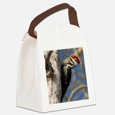 note card-front tall Canvas Lunch Bag