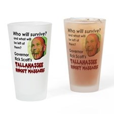 massacre Drinking Glass
