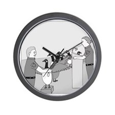 Canadian Geese - no text Wall Clock