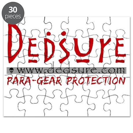 Cafepress Logo Dedsure-Get Stuffed - BLACK Puzzle