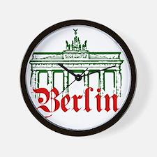 Berlin Brandenburg Gate Wall Clock