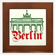 Berlin Brandenburg Gate Framed Tile
