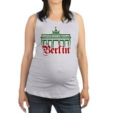 Berlin Brandenburg Gate Maternity Tank Top